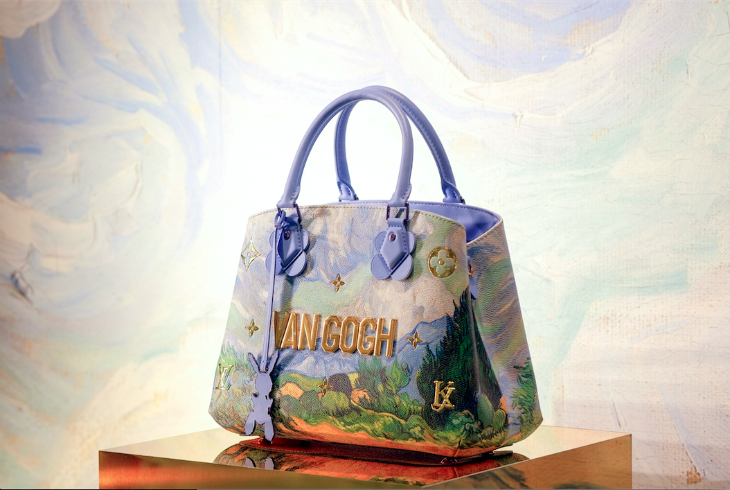 24729b383aff Louis Vuitton x Jeff Koons  Probably one of the most well-known living  artists today