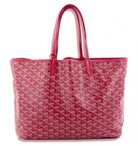 red goyard handbag